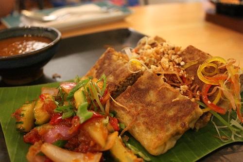malaysian food in delhi - murtabak