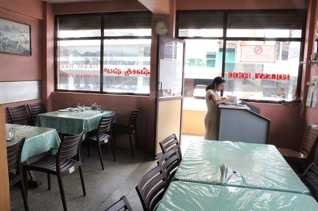 hotel folksy restaurant madikeri