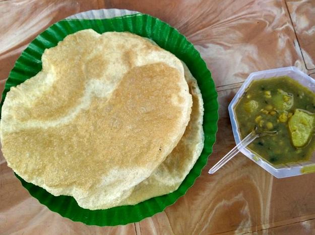 luchi bhaji in guwahati